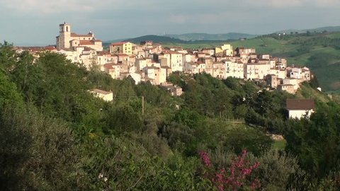Toro, a small town in the province of Campobasso, Molise Italy