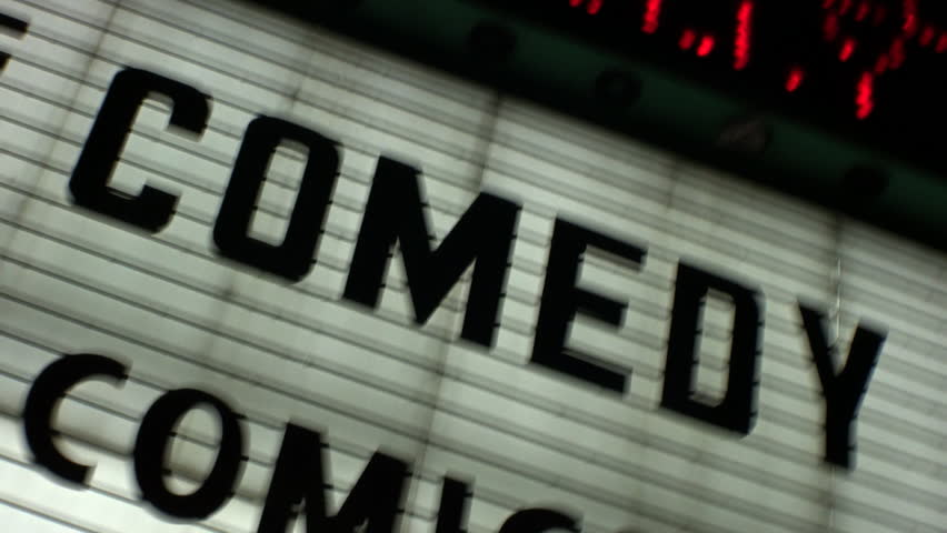 COMEDY' Show Marquee Sign