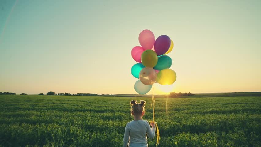 Girl with a balloon 1