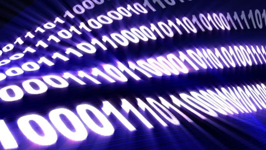 Binary Code Numbers Background, Loop, 4k  | Shutterstock HD Video #17577925