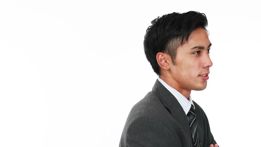 Smiling Asian businessman | Shutterstock HD Video #17590195