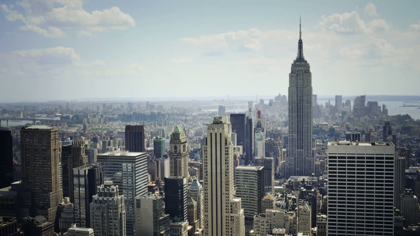 Empire State Building and Downtown Stock Footage Video (100% Royalty-free)  1759325 | Shutterstock