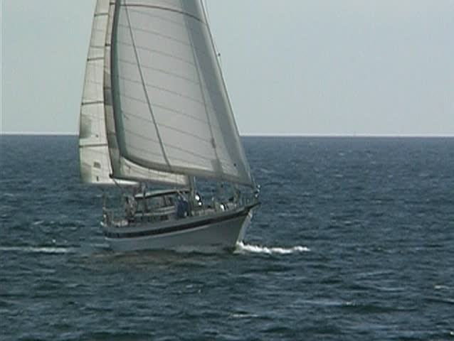 Yacht at sea 18