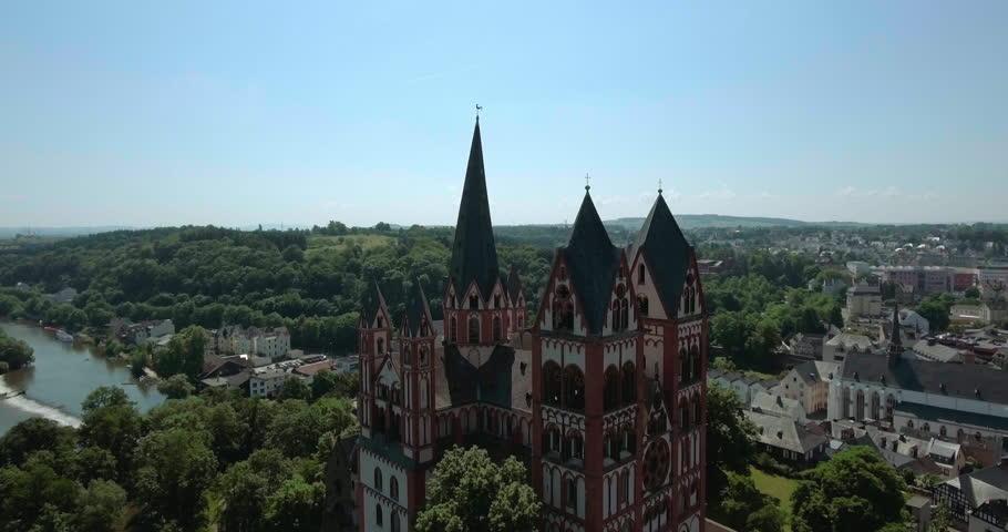 Cathedral in Limburg (Limburger Dom), Limburg, Hesse Germany
