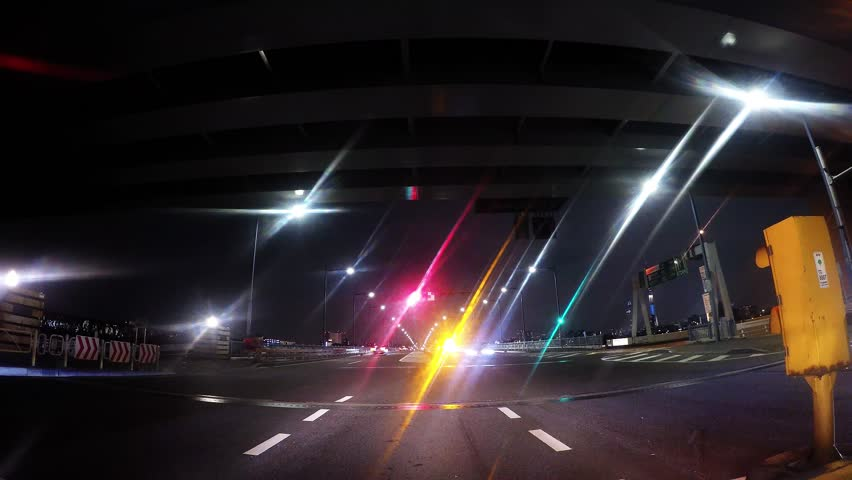 Time-lapse of the Tokyo Metropolitan Expressway/ Capital high central loop line time-lapse./ | Shutterstock HD Video #17901715