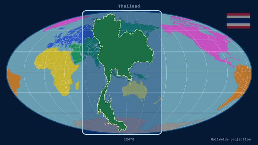 Localization GPS Navigation Traveling Pathfinding Over Asia