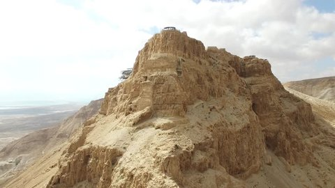 Masada - Terraces - Water gate - Storerooms - Bathhouse - Grand residence - Barracks - (Version 01)