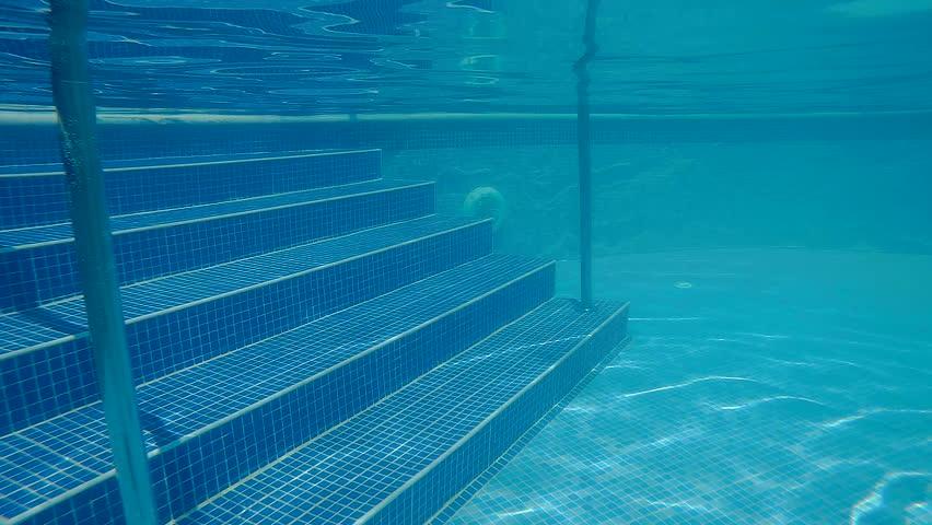 Dark Blue Pool Water