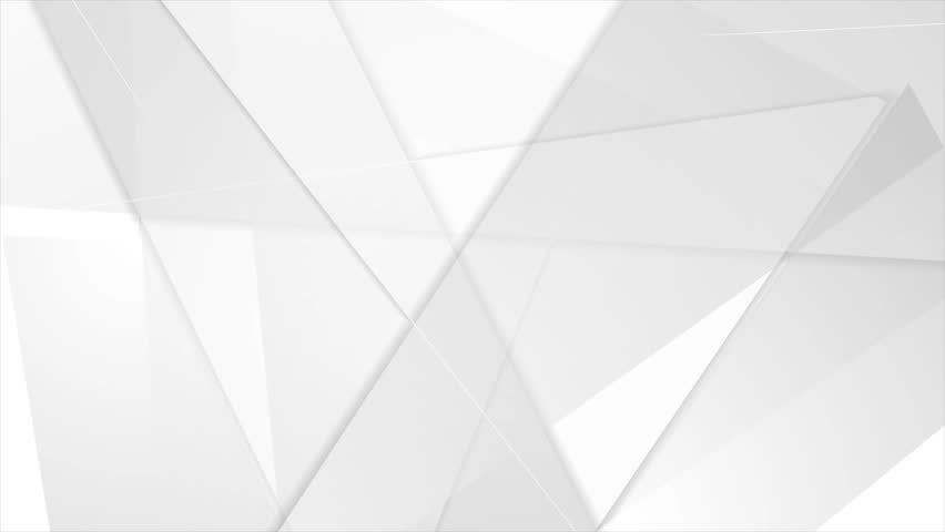 Grey abstract tech geometric polygonal motion background. Video low poly animation Ultra HD 4K 3840x2160