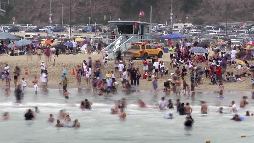 Crowded Beach #1808585