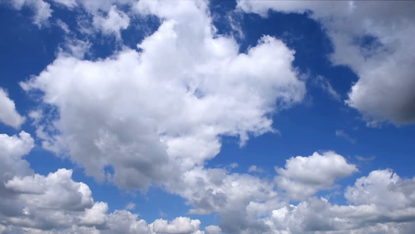 Beautiful white clouds in time lapse  | Shutterstock HD Video #18116455