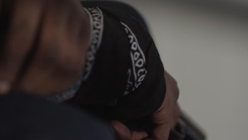 Header of bandana