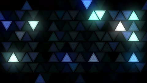Flashing disco triangle LEDs wall VJ loop for live stage visuals, fashion, events, party, night clubs, concerts, projections, show, exhibitions. Seamless and ready for use in any audiovisual software.