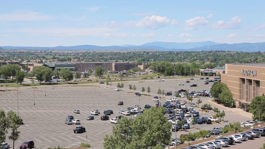 Denver Colorado USA July 20 2016 View Of Park Meadows Mall