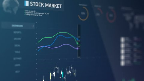 Stock and share market reports, live statistics, gaining and losing companies. Electronic chart with stock market fluctuations, summary, annual reports, analysis