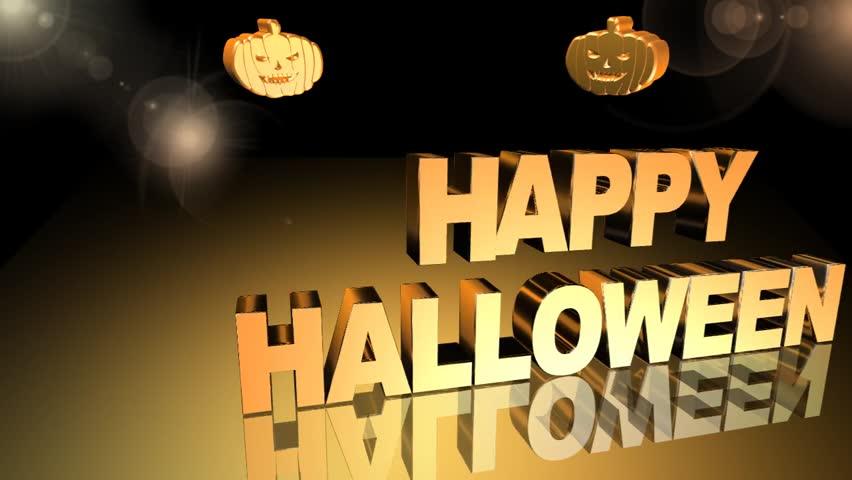 Happy halloween,video animation | Shutterstock HD Video #18338125