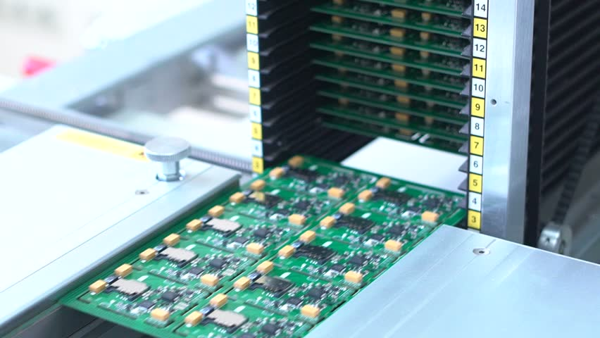 Smt Printed Circuit Board  Printed Stock Footage Video (100% Royalty-free)  18465205 | Shutterstock