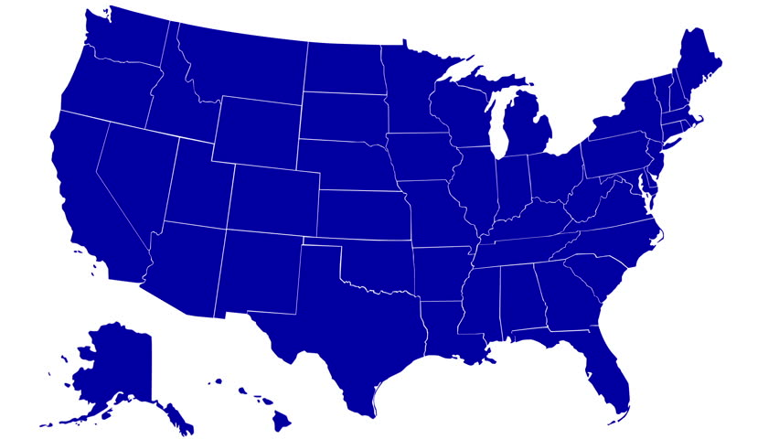 State Of Missouri Map Reveals From The USA Map Silhouette - Missouri in usa map