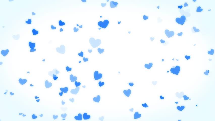 light blue heart background - photo #25