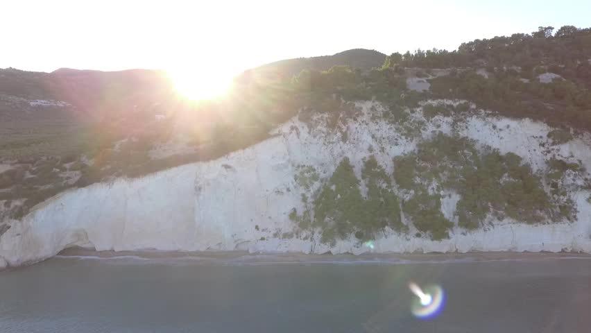 Aerial video from Mattinatella (Mattinata), Italy.  | Shutterstock HD Video #18875285