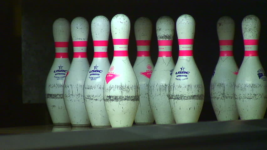 A day at the bowling alley.