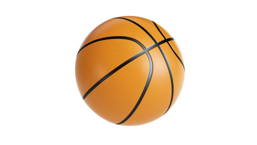 Spinning basketball gif