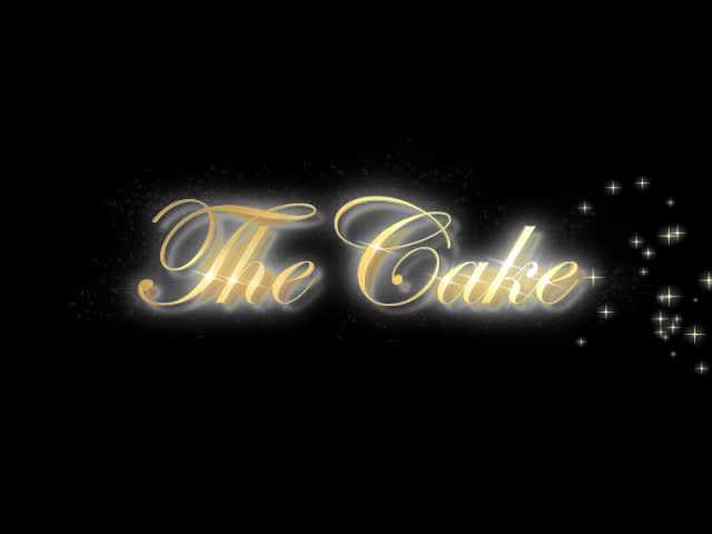 The Cake lettered animation