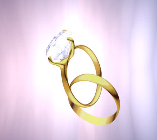 Spinning Wedding Ring Stock Footage Video 200179 Shutterstock