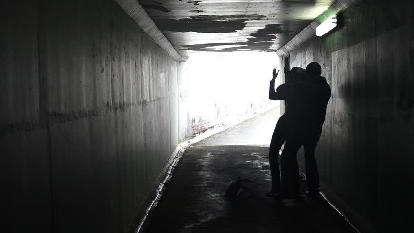 Alleyway Stock Footage Video