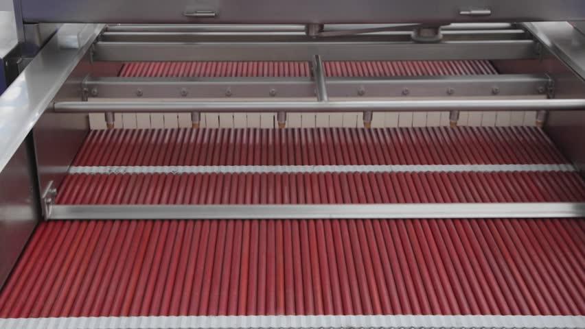 Rotating Mechanical Fruits Stalk Removing Machine | Shutterstock HD Video #19055005