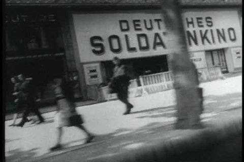 The Germans occupy Paris, France, the French Forces of the Interior work underground against the occupation, and the Americans enter France through Normandy in June 1944. (1960s)