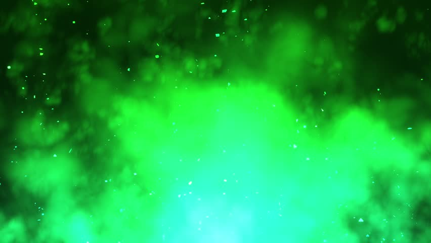 Green Light Effects Stock Footage Video: Green Light Beams And Particles Loopable Background Stock