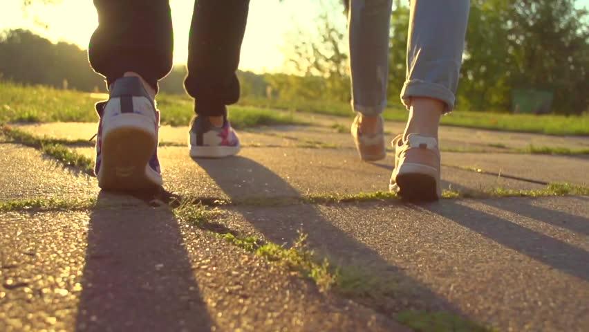 Speed dating walking