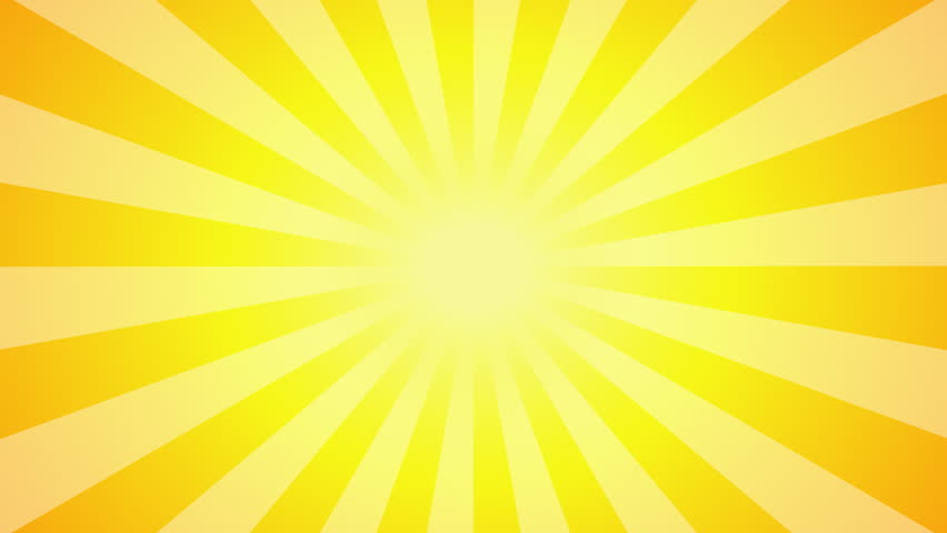 A Simple Rotating Sun Ray Animation. Stock Footage Video ...