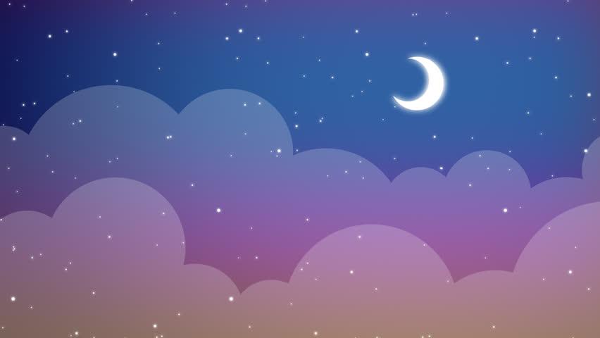cartoon night vector wallpaper - photo #12