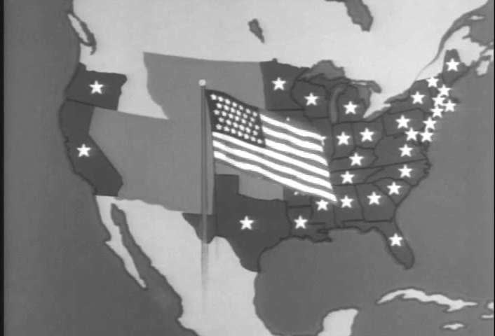 An Animated Map (narrated in Stock Footage Video (100% Royalty ... on