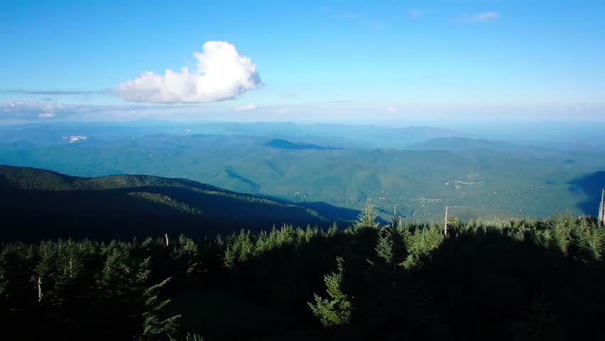 Header of Blue Ridge Mountains