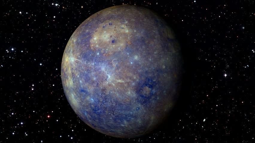 Planet Mercury Beautiful 3d Animation Of Mercury Planet