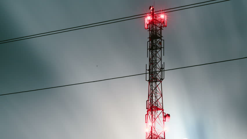 Communication Antenna Tower  Radio Antenna Stock Footage Video (100%  Royalty-free) 19660375 | Shutterstock