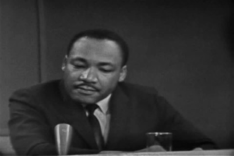 Martin Luther King discusses the expectation for how swiftly Whites can change their attitudes about Blacks in 1963. (1960s)
