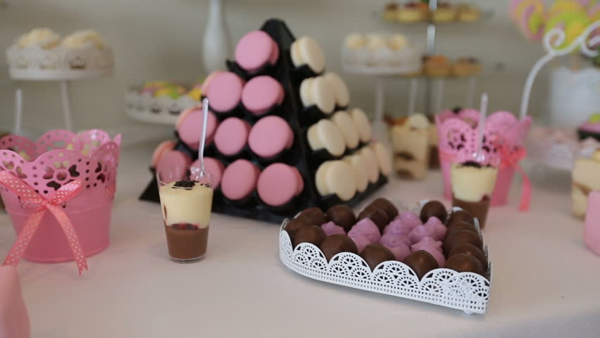 Wedding Candy Bar.Candy Bar Wedding Candy Buffet Stock Footage Video 100 Royalty Free 19778365 Shutterstock