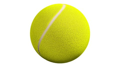 Tennis Ball Spin in Loop with Luma Matte