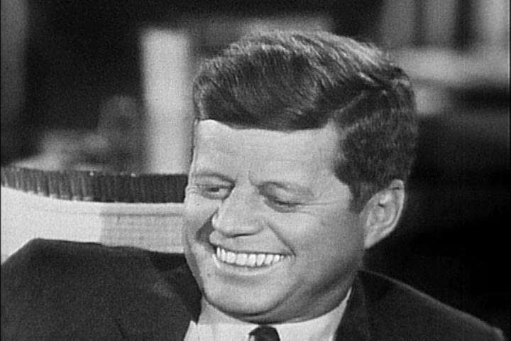 John F Kennedy discusses his early successes during his first two years in office in the 1960s. (1960s)