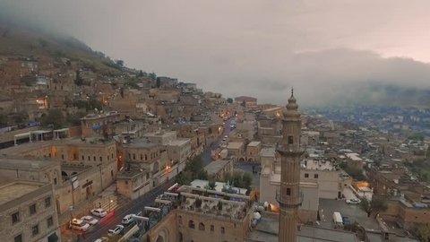 city of old mardin, eski mardin, old city, old middle east city