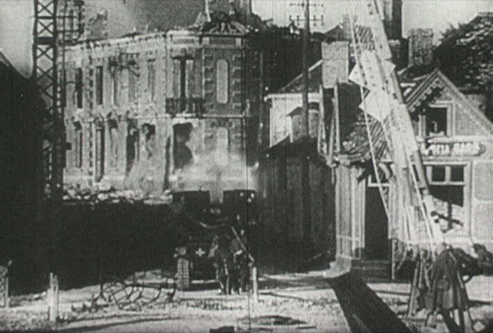 EUROPE - CIRCA 1942-1944: World War II, Large Explosion in France