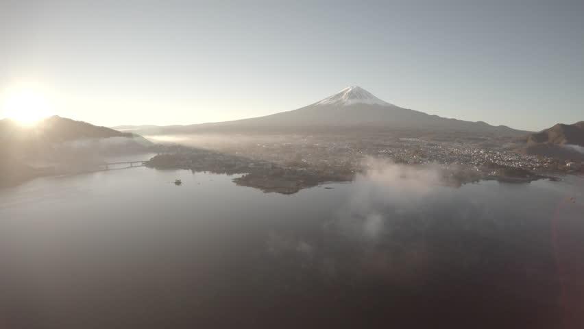 Mount Fuji and Lake Kawaguchiko | Shutterstock HD Video #20133115