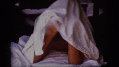COTTONWOOD, ARIZONA 1968: a man is seen sleeping