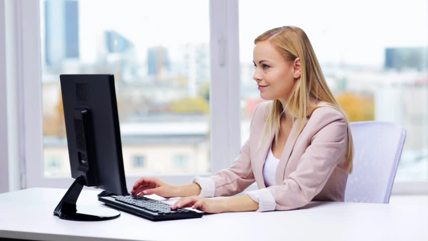 Image result for Happy woman on laptop