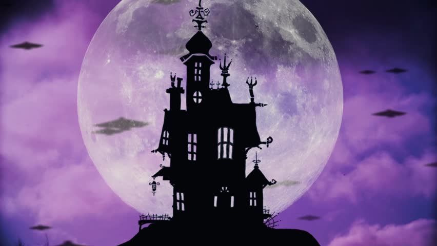 Halloween Background Hd.Halloween Night Background With Haunted Stock Footage Video 100 Royalty Free 20324005 Shutterstock