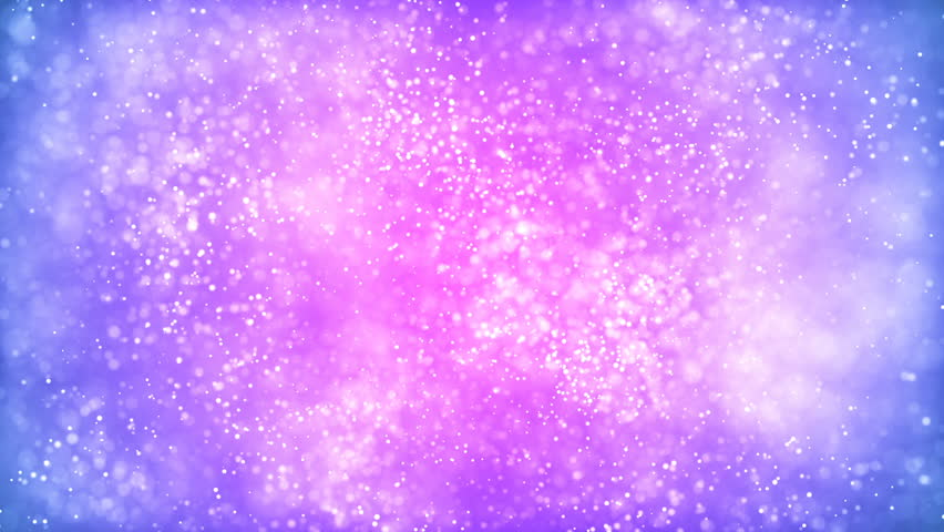 Swirls Of Vivid Purple And Blue And Gold Glitter, Flowing